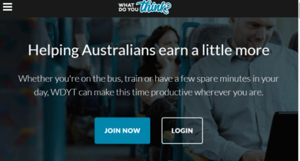 Join wdyt paid surveys Australia!